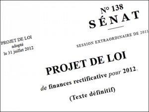 Le Parlement a adopté le projet de loi de finances rectificative 2012 dans La politique nationale lfr2012-adoption-300x225