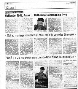 L'interview du dimanche (La Voix du Nord du 25 novembre 2012) dans La presse interview-2-e1354010831418-263x300