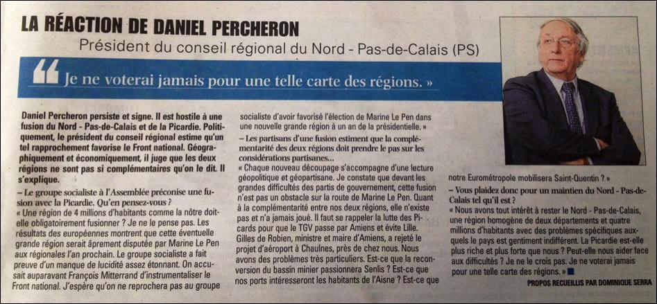Article Voix du Nord - 16/07/14
