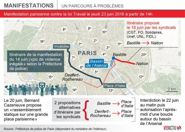 source : http://www.franceinfo.fr/fil-info/article/les-organisations-ont-obtenu-le-droit-de-manifester-le-23-juin-sur-un-parcours-propose-par-le-800005